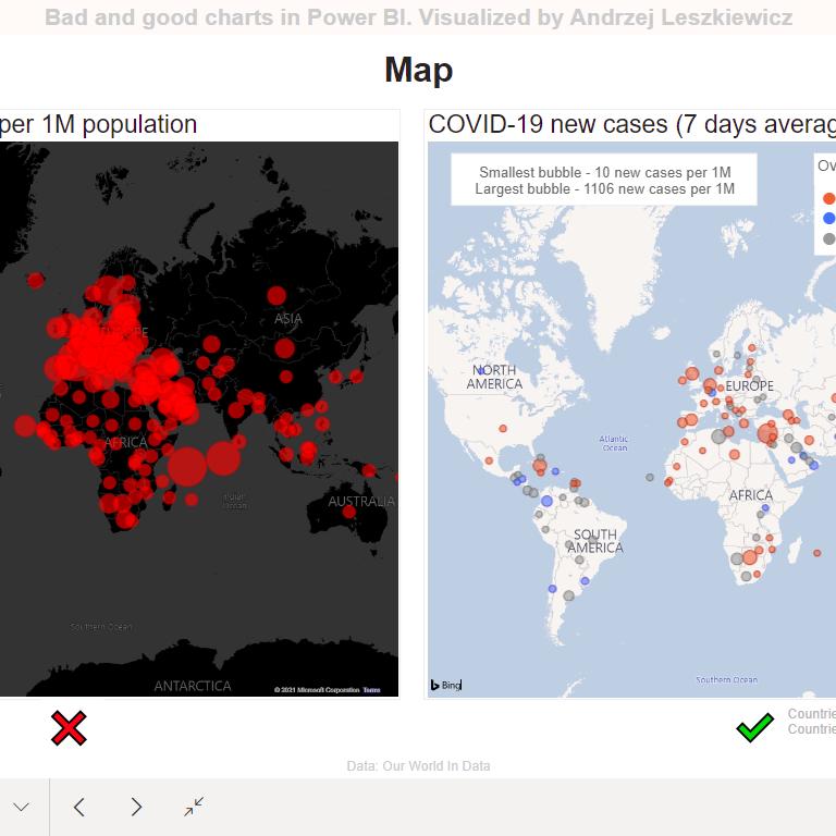 Power BI Map: bad or good?